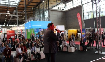 CEBIT 2018 - Moderation der CeBIT job and career Stage