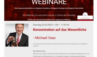Speakers Excellence Impuls Webinar